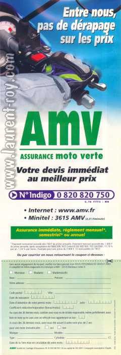 assurance moto collection flotte