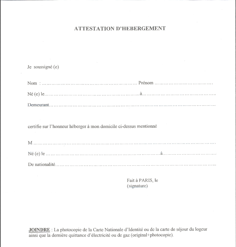 attestation d assurance