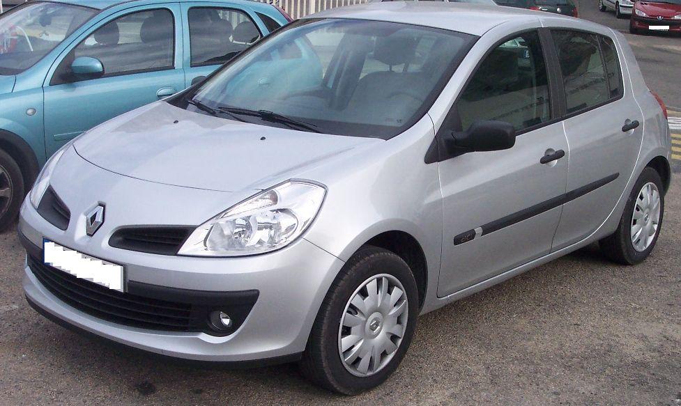 2005-2011 ZesfOr Tapis De Sol Renault Clio 3