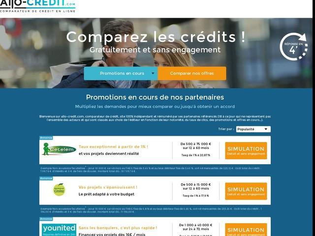 credit personnel meilleur taux