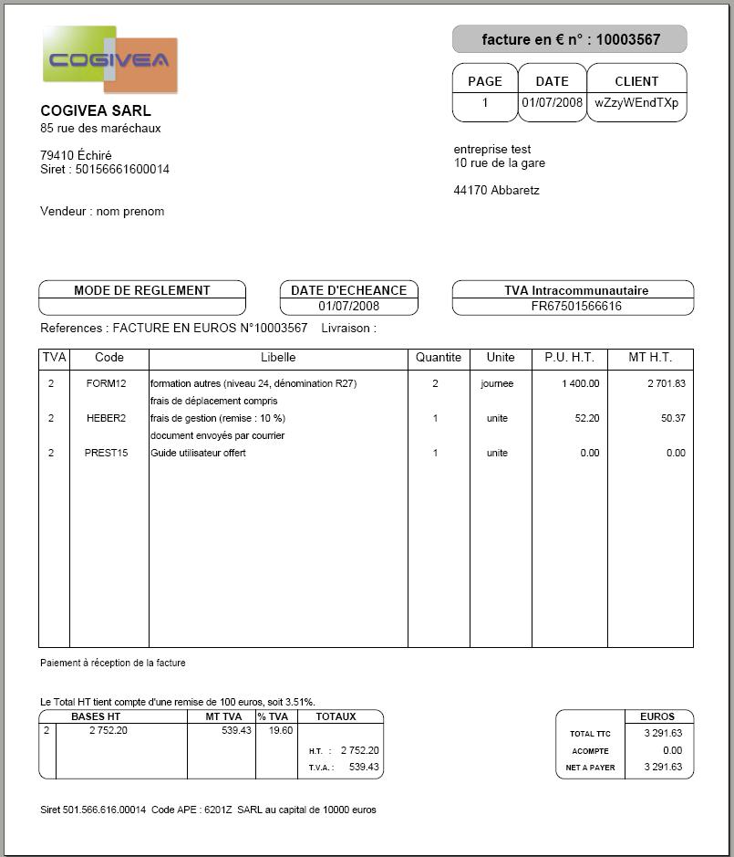 credit sans condition