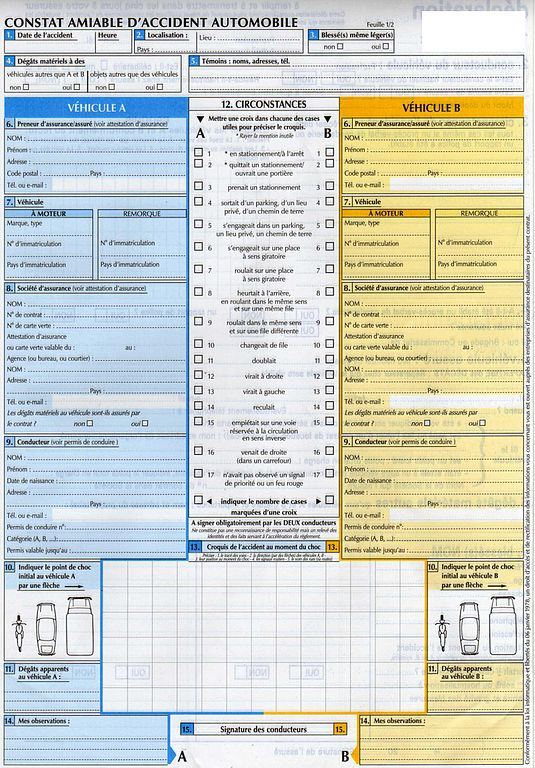 changement assurance auto document