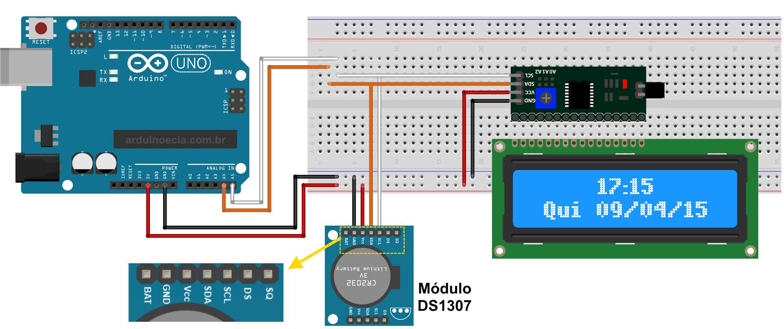 Arduino Lcd Library I2c