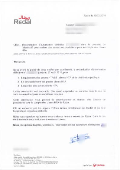 modèle lettre résiliation abonnement