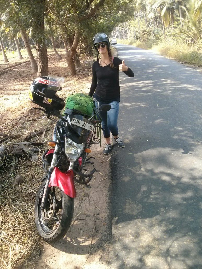 video pilotage moto