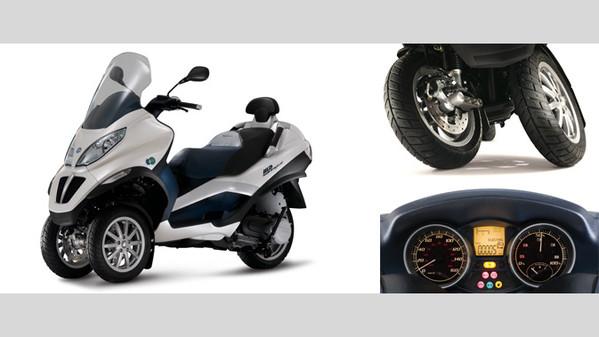 scooter électrique 3 roues piaggio