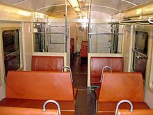voiture sur train