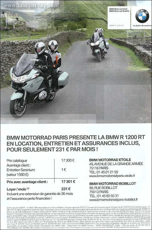 bmw assurance moto