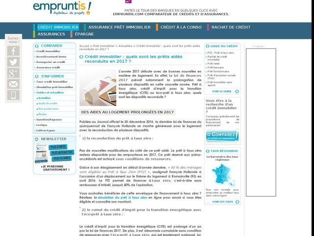 demande credit immobilier en ligne