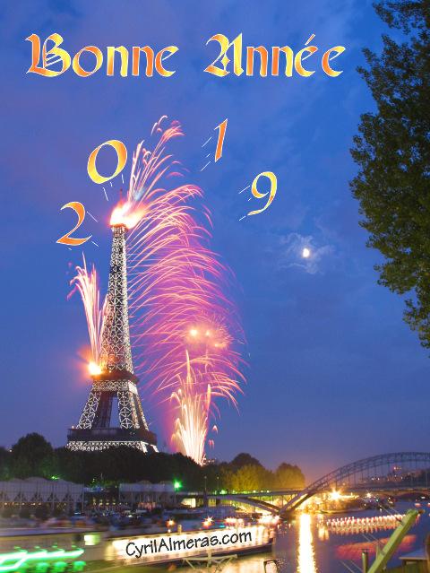 photo bonne année 2019
